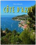 Reise entlang der Côte d'Azur