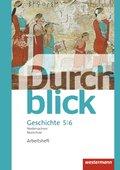 Durchblick Geschichte und Politik, Realschule Niedersachsen (2015): 5./6. Schuljahr, Arbeitsheft