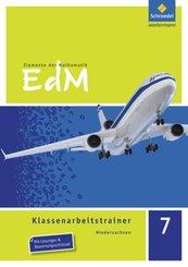 Elemente der Mathematik, Klassenarbeitstrainer, Ausgabe Niedersachsen: 7. Schuljahr, Klassenarbeitstrainer