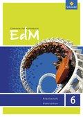Elemente der Mathematik (EdM) SI, Ausgabe Niedersachsen G9 (2015): 6. Schuljahr, Arbeitsheft
