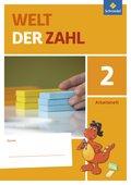 Welt der Zahl, Allgemeine Ausgabe 2015: 2. Schuljahr, Arbeitsheft; Bd.2