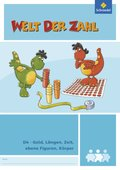 Welt der Zahl - Inklusionsmaterialien: Geld, Längen, Zeit, ebene Figuren, Sachrechnen; H.D4