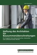 Haftung des Architekten für Bausummenüberschreitungen