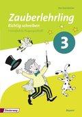 Zauberlehrling - Richtig schreiben, Ausgabe  Bayern (2014): 3. Schuljahr, Arbeitsheft Vereinfachte Ausgangsschrift