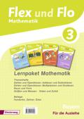Flex und Flo, Ausgabe 2014 für Bayern: 3. Jahrgangsstufe, Lernpaket Mathematik, 4 Hefte (Für die Ausleihe)