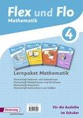 Flex und Flo, Ausgabe 2014 für Rheinland-Pfalz: Lernpaket Mathematik 4: 4 Themenhefte (für die Ausleihe)