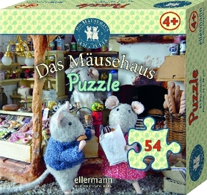 Das Mäusehaus-Puzzle, Beim Einkaufen (Kinderpuzzle)