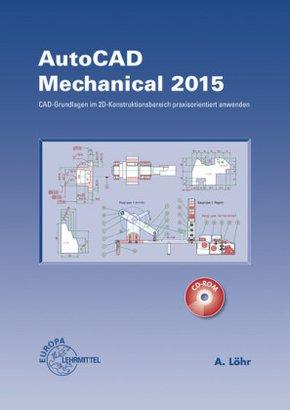 AutoCAD Mechanical 2015, m. CD-ROM