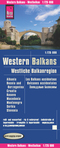 Reise Know-How Landkarte Westliche Balkanregion; Western Balkans / Les Balkans occidentaux / Balcanes occidentales
