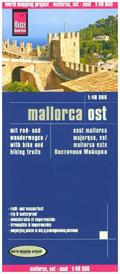 Reise Know-How Mallorca Ost (1:40.000); East Mallorca; Majorque, est. Mallorca este