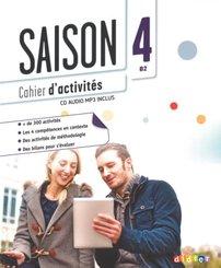 Saison - Méthode de Français - Band 4: B2
