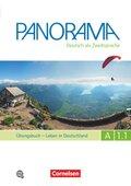 Panorama - Deutsch als Fremdsprache: Leben in Deutschland, Übungsbuch, m. Audio-CD; Bd.A1.1 - Tl.1