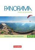 Panorama - Deutsch als Fremdsprache: Leben in Deutschland, Übungsbuch, m. Audio-CD; Bd.A1.2 - Tl.2