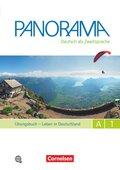 Panorama - Deutsch als Fremdsprache: Leben in Deutschland, Übungsbuch, Gesamtband, m. Audio-CDs; Bd.A1