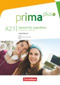 Prima plus - Deutsch für Jugendliche: Arbeitsbuch, m. CD-ROM; Bd.A2.1