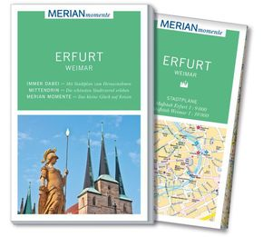 MERIAN momente Reiseführer Erfurt, Weimar