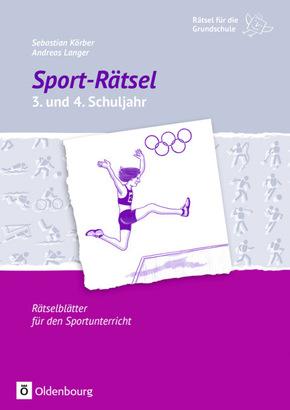 Sport-Rätsel 3. und 4. Schuljahr