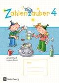 Zahlenzauber, Ausgabe Bayern 2014: 4. Jahrgangsstufe, Arbeitsheft