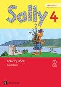 Sally, Englisch ab Klasse 3, Ausgabe Bayern, Neubearbeitung: 4. Jahrgangsstufe, Activity Book mit Audio-CD
