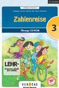 Zahlenreise, 3. Klasse / Mathematik, 1 Übungs-CD-ROM (Neubearbeitung)