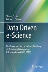 Data Driven e-Science