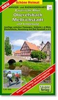 Doktor Barthel Karte Bayerische Rhön, Oberelsbach, Mellrichstadt und Umgebung