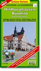 Doktor Barthel Karte Hildburghausen, Römhild und Umgebung