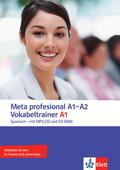 Meta profesional: Vokabeltrainer A1, m. CD-ROM u. MP3-CD
