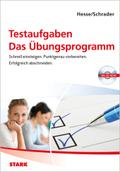 Testaufgaben, Das Übungsprogramm, m. CD-ROM