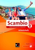 Scambio A: Arbeitsheft, m. Audio-CD; Bd.2