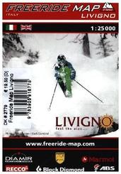 Freeride Map Livigno