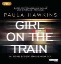 Girl on the Train - Du kennst sie nicht, aber sie kennt dich, 2 MP3-CDs