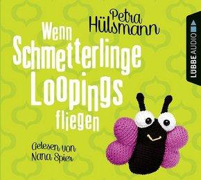Wenn Schmetterlinge Loopings fliegen, 4 Audio-CDs
