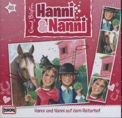 Hanni und Nanni auf dem Reiterhof, 1 Audio-CD