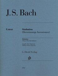 Bach, Johann Sebastian - Sinfonien (Dreistimmige Inventionen)