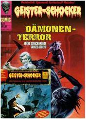 Geister-Schocker-Comic - Dämonen-Terror