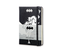 Moleskine Notizbuch Batman P/A6, Blanko, Hard Cover, Schwarz
