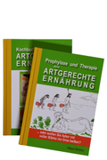 Prophylaxe und Therapie durch ARTGERECHTE ERNÄHRUNG, 2 Bde.
