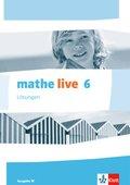 mathe live, Ausgabe W: 6. Schuljahr, Lösungen
