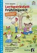 Lernwerkstatt Frühlingszeit - Ergänzungsband für den inklusiven Unterricht, m. CD-ROM