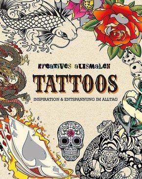 Kreatives ausmalen - Tattoos