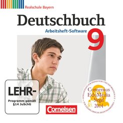 Deutschbuch, Realschule Bayern: 9. Jahrgangsstufe, Arbeitsheft-Software, CD-ROM