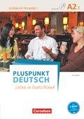 Pluspunkt Deutsch - Leben in Deutschland: Kursbuch mit Video-DVD; Bd.A2/1 - Tl.1