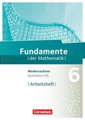 Fundamente der Mathematik, Gymnasium Niedersachsen G9: 6. Schuljahr, Arbeitsheft