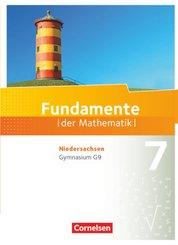 Fundamente der Mathematik, Gymnasium Niedersachsen G9: 7. Schuljahr, Schülerbuch