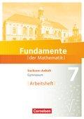 Fundamente der Mathematik, Gymnasium Sachsen-Anhalt: 7. Schuljahr, Arbeitsheft