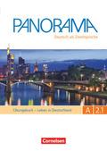 Panorama - Deutsch als Fremdsprache: Leben in Deutschland, Übungsbuch + MP3-CD; Bd.A2.1 - Tl.1