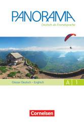 Panorama - Deutsch als Fremdsprache: Glossar Deutsch-Englisch, Gesamtband; A1