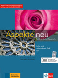 Aspekte neu - Mittelstufe Deutsch: Lehr- und Arbeitsbuch B2, m. Audio-CD - Tl.1