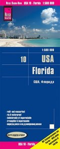 Reise Know-How Landkarte USA, Florida (1:500.000)